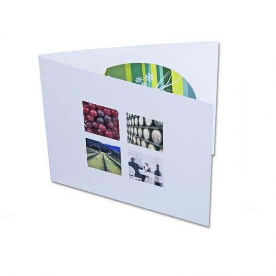 Embalagem de cartão DÍPTICO ou TRÍPTICO com Dropstop