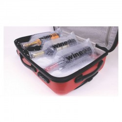 Embalagem protectora WINESKIN® para transporte de 1 garrafa