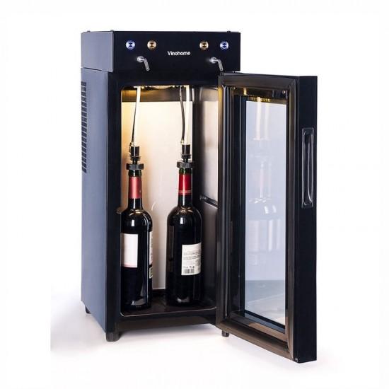 Dispensador de vinho VINOGLASS para 2 garrafas